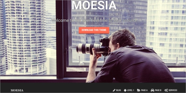 free responsive company wordpress theme