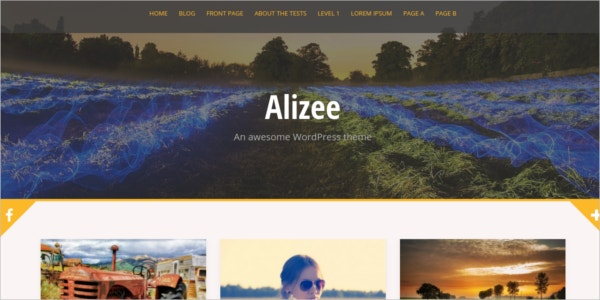 free responsive effective wordpress theme