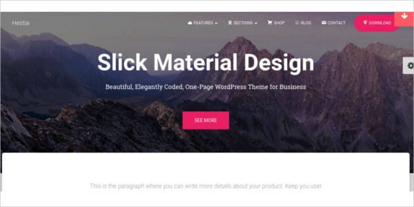 free responsive wordpress business theme