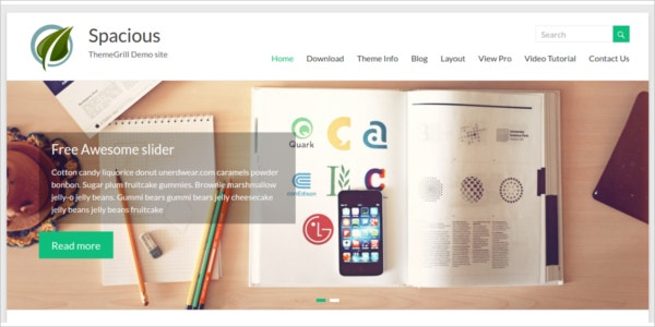 free responsive wordpress design theme