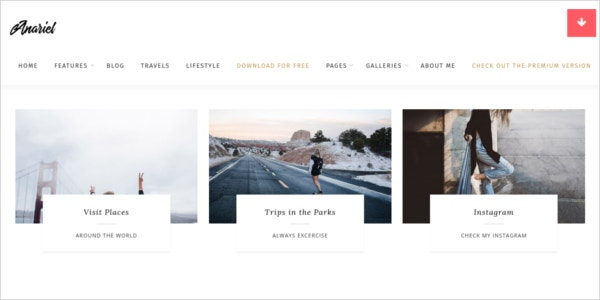 free responsive wordpress fashion theme