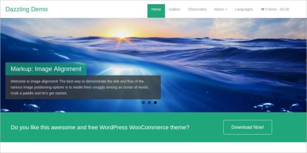 free-ecommerce-dazzling-wordpress-theme