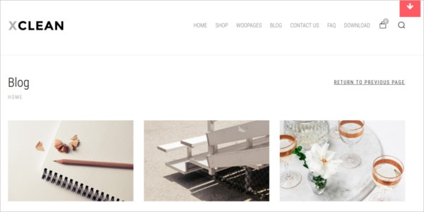 free ecommerce minimalistic wordpress theme