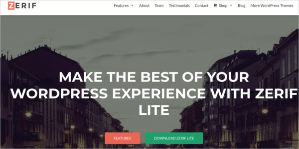 free ecommerce wordpress theme for creative agency