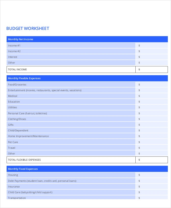home-improvement-budget-worksheet