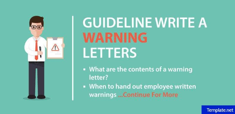 how-to-write-a-warning-letter-4-templates
