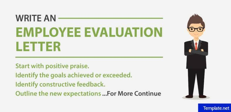 How to write an employee evaluation letter