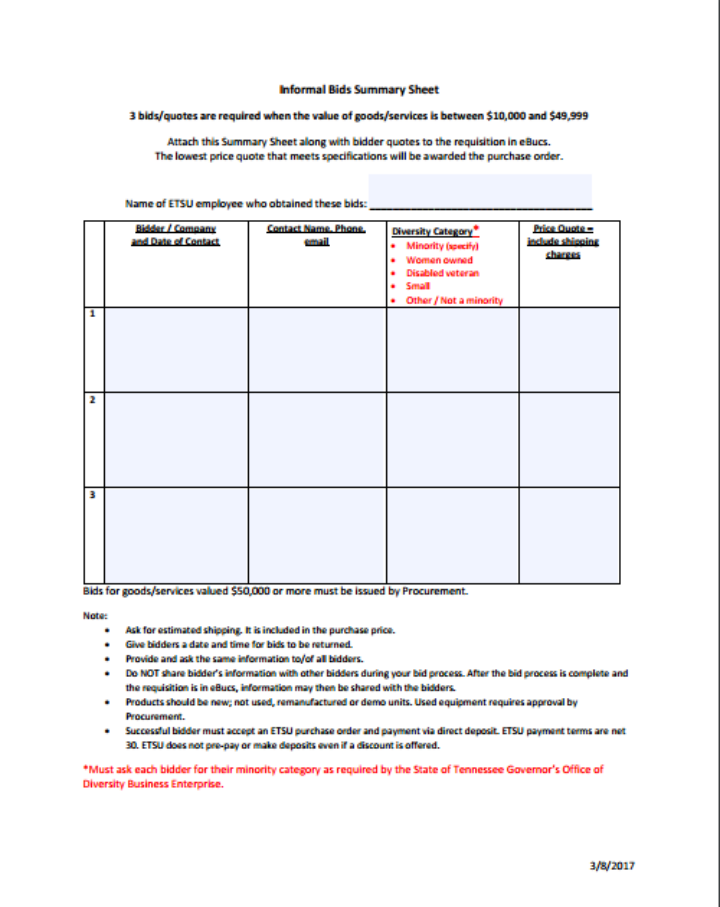 informal-bids-summary-sheet
