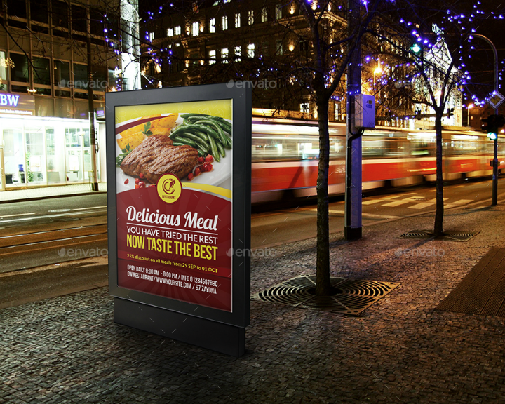 mexican restaurant advertising bundle template