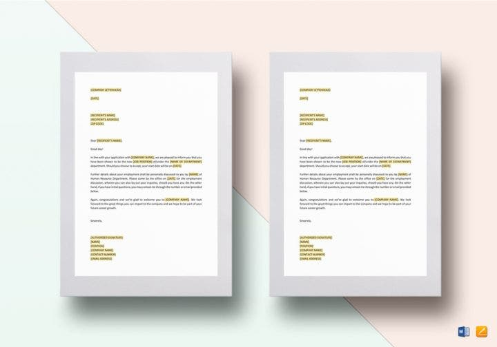 How to write a job invitation letter word free premium templates job invitation letter template stopboris Gallery