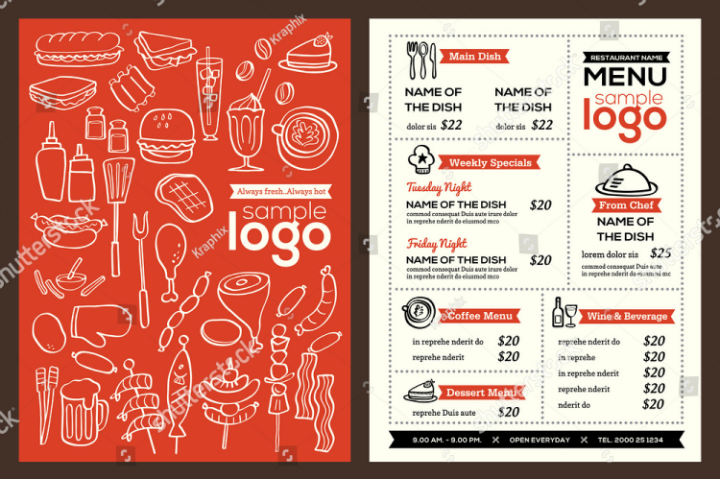restaurant-menu-cover-pamphlet-template