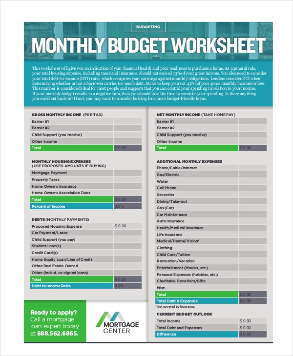 monthly-home-budget-worksheet