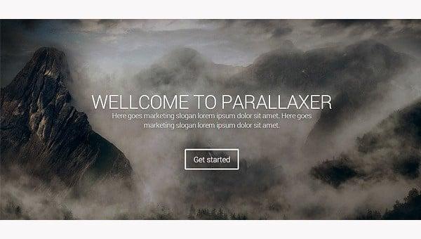 parallaxlandingpagethemes
