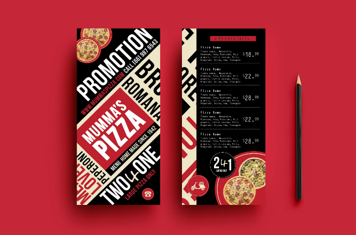 pizza-restaurant-menu-rack-card-template