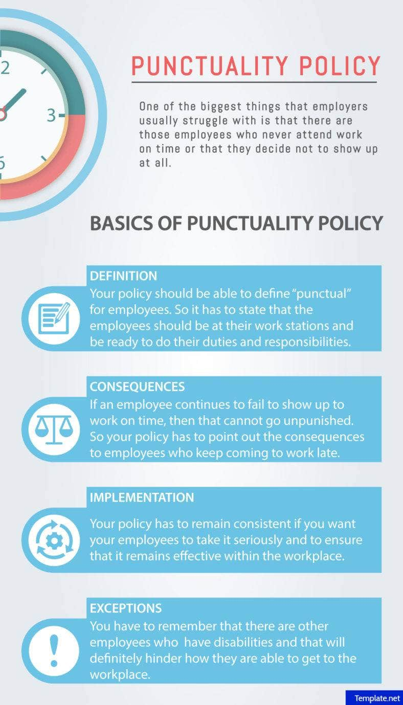 Punctuality Policy Basics