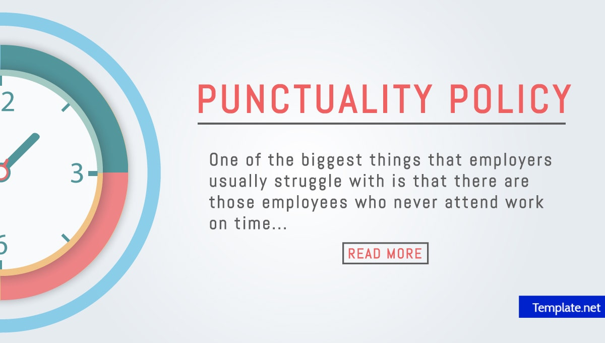 how to make a punctuality policy