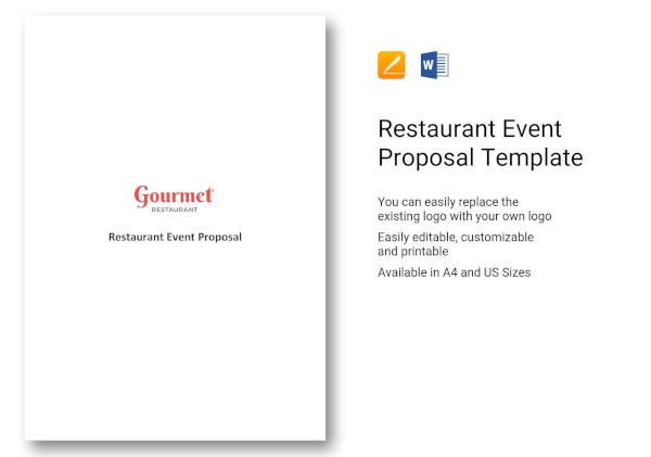 restaurant-event-proposal-template