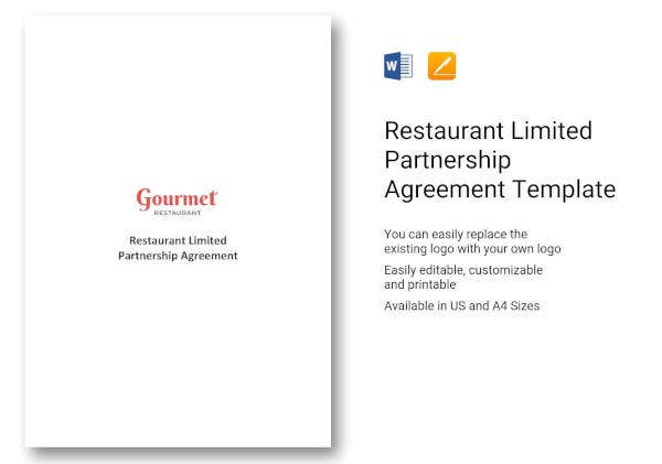 restaurant-limited-partnership-agreement-template