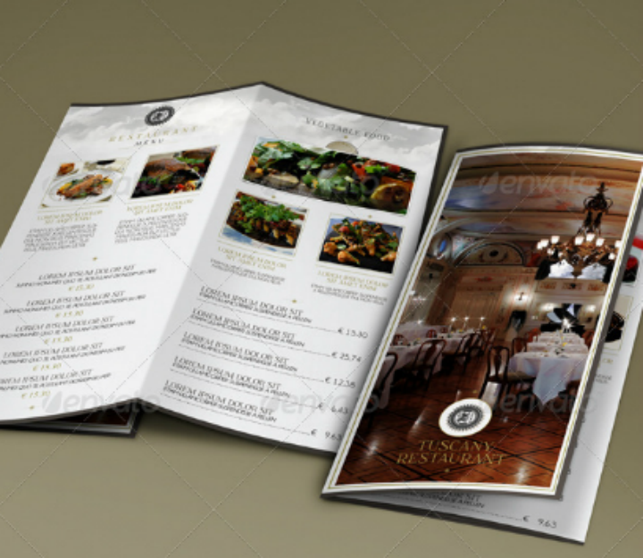 14+ Restaurant Tri-fold Brochure Designs & Templates - PSD, AI, Word ...