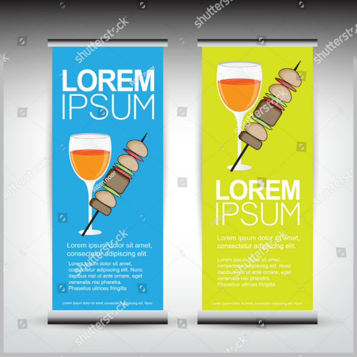 summer-restaurant-roll-banner-design