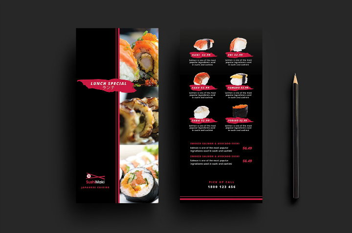 sushi-restaurant-rack-card-template