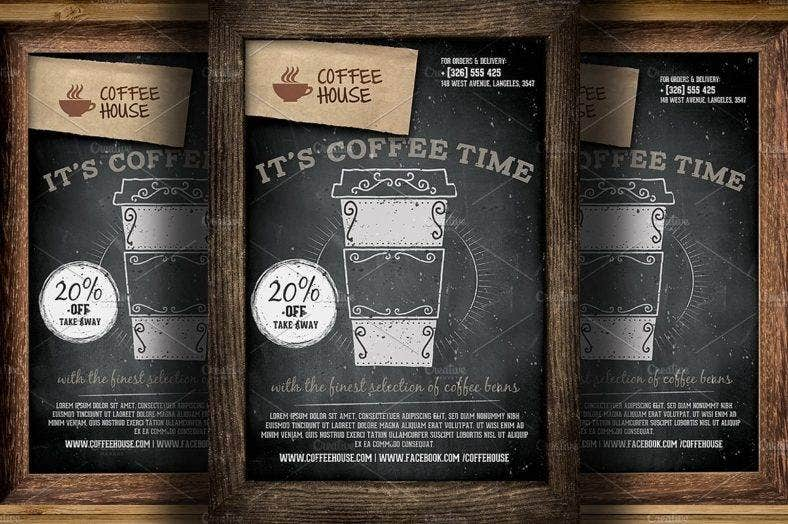 coffee shop flyer 788x524