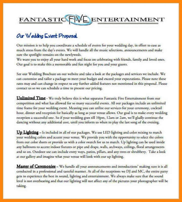 8 Event Proposal Templates Restaurant Cafe And Bakery Pdf Doc