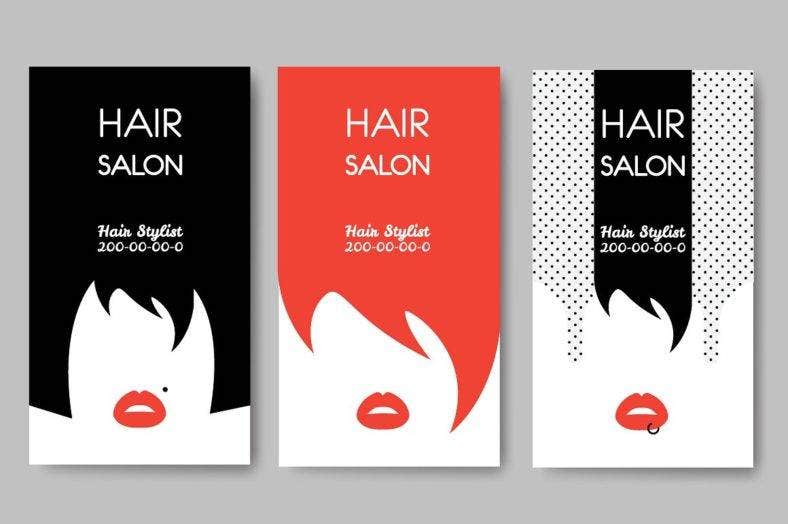 hair_salon_business_cards
