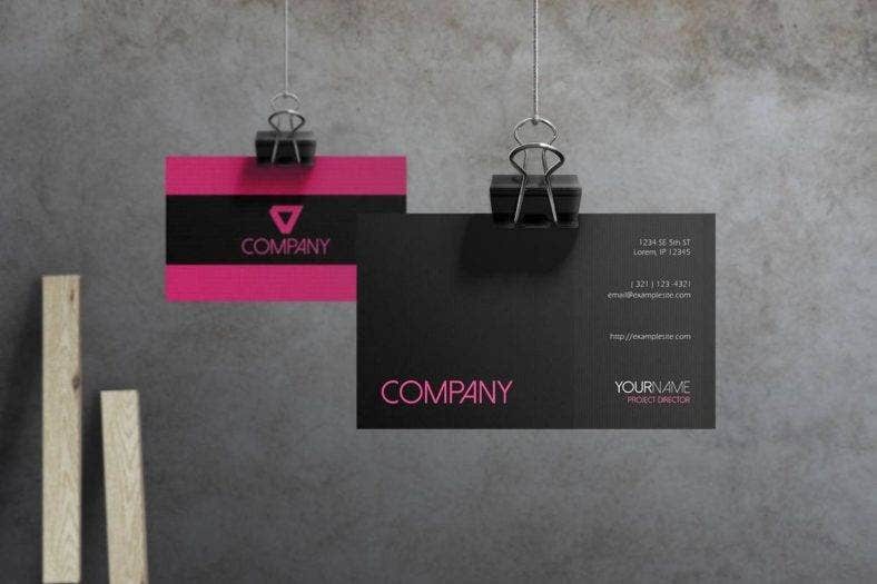 hot-pink-business-card-template-1