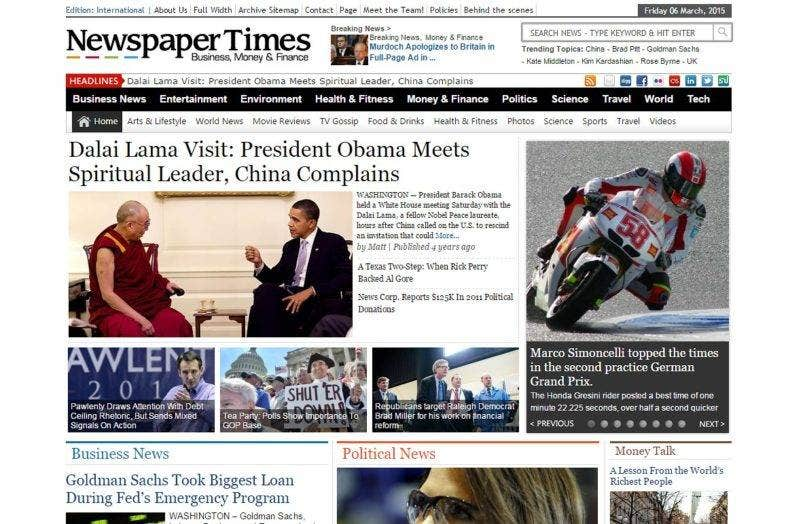 newspaper-times