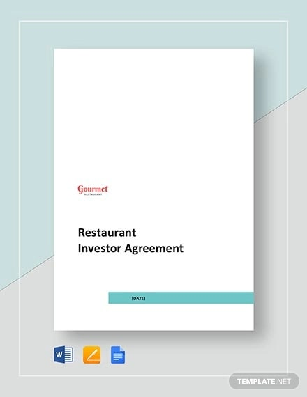 restaurant investor