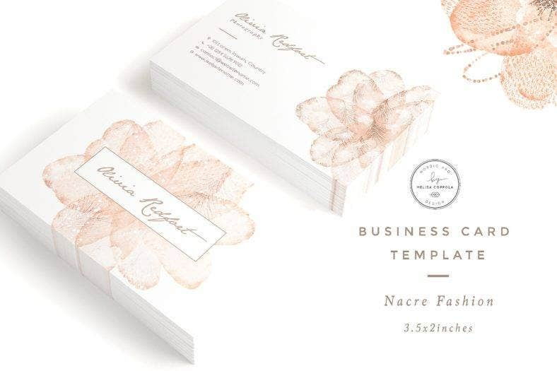 13 Hair Fashion Business Card Designs Templates Psd Ai Indesign Pdf Doc Free