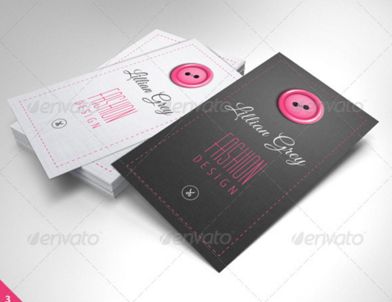 15 fashion designer business card designs templates free simple fashion designer business card template reheart Gallery