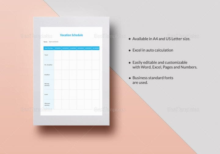 vacation schedule template 767x536 e1513156537661