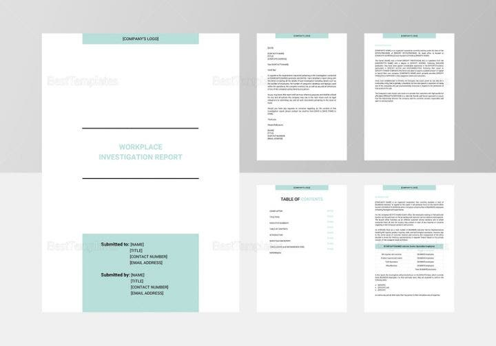 workplace investigation report template image 1 767x536 e1513739464486