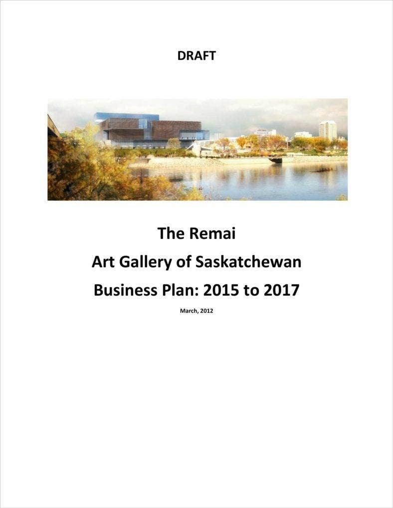 How To Make An Art Gallery Business Plan Free Premium Templates - Art gallery business plan template