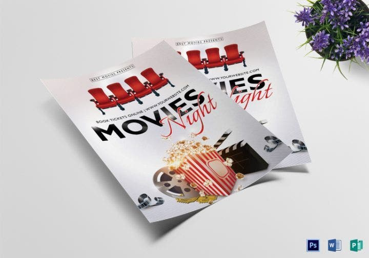 15 Movie Flyer Designs Templates Psd Word Publisher Free