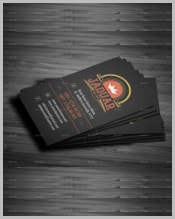 black-vintage-business-card-template
