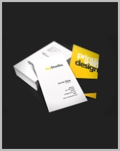 black-and-yellow-studio-business-card