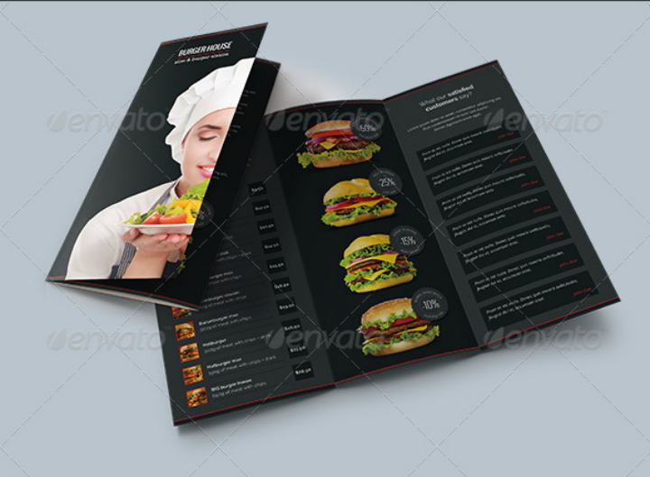 burger-house-tri-fold-catering-brochure-template