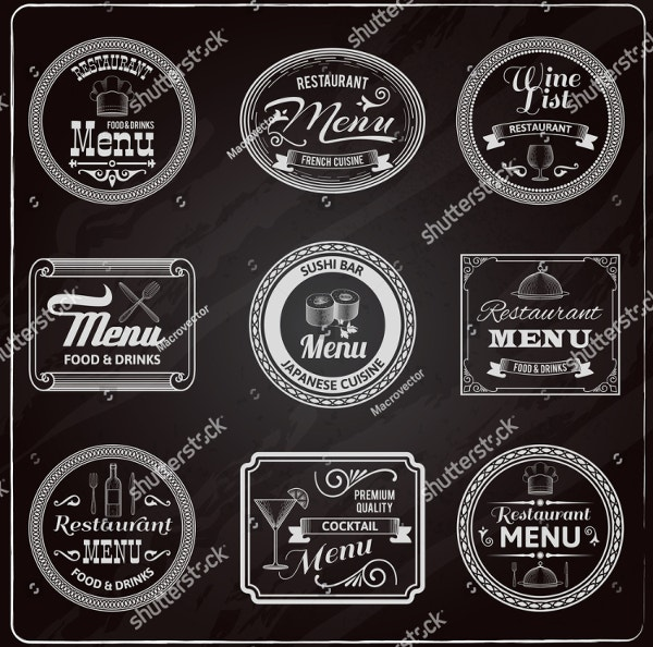 chalkboard-restaurant-menu-label-templates