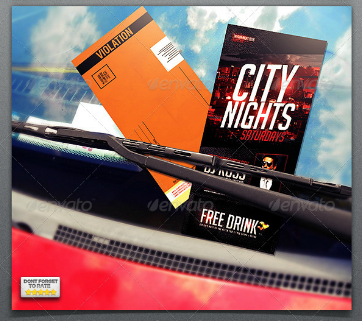 city-nights-parking-ticket-flyertemplate