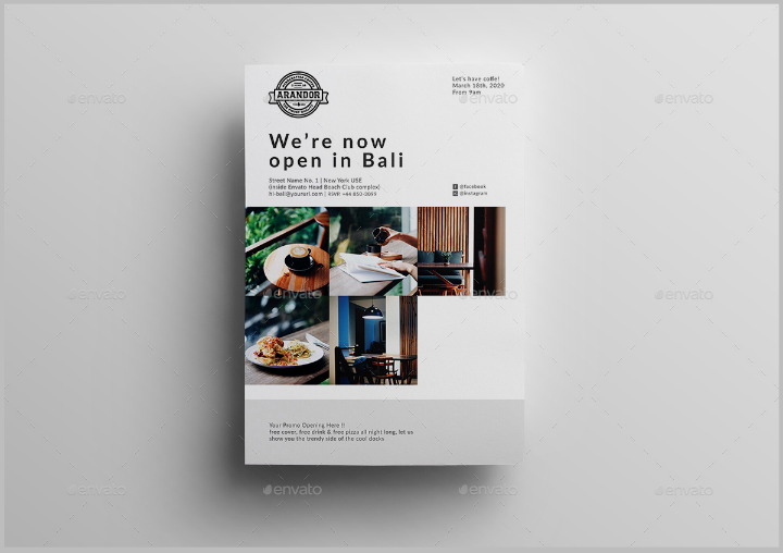 clean-restaurant-grand-opening-flyer-template
