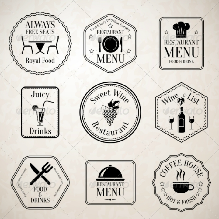decorative-restaurant-menu-labels-template