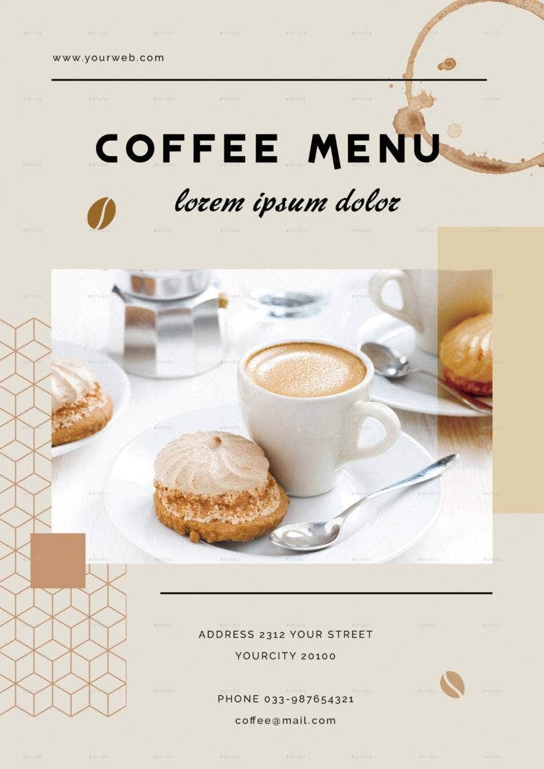 elegant-coffee-menu
