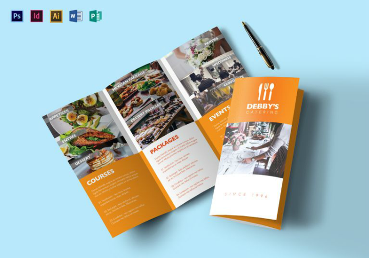 18 Restaurant Catering Brochure Designs Amp Templates Psd Ai Free