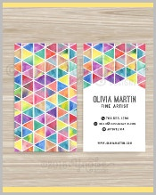 fine-artist-business-card