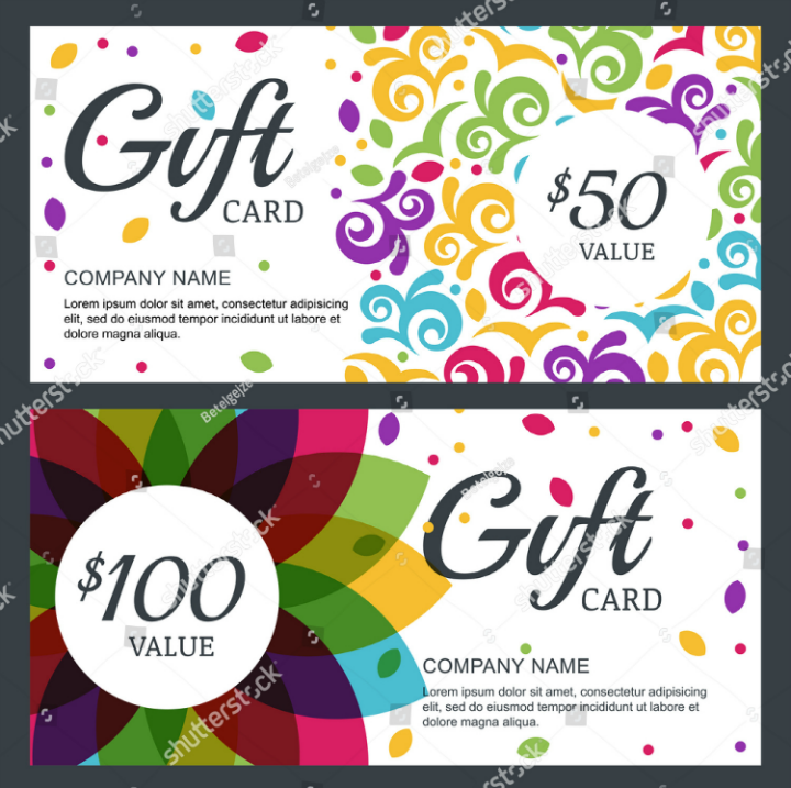 floral-restaurant-gift-card-template