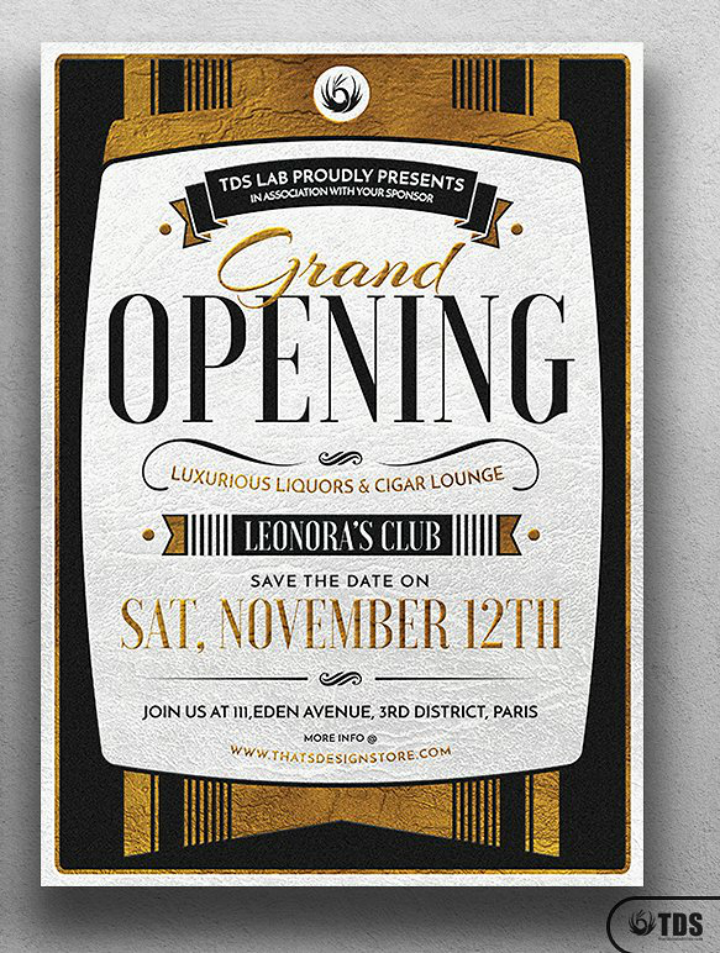 gold-restaurant-grand-opening-flyer-template