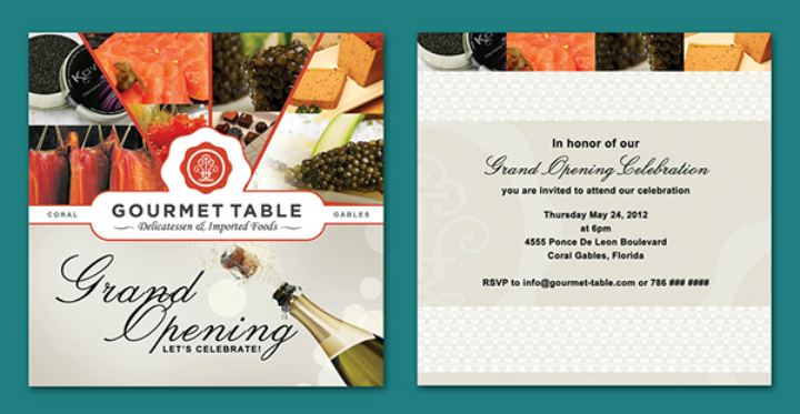 14 Restaurant Grand Opening Invitation Designs Templates Psd